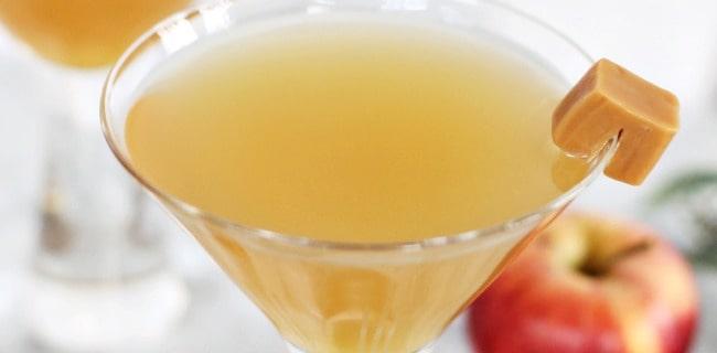 Caramel Appletini recipe