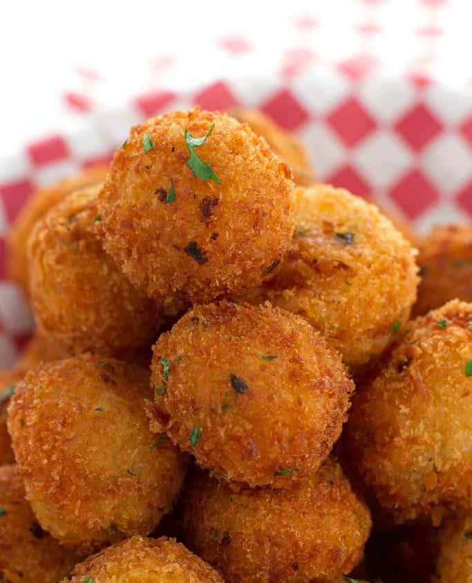 Loaded Mashed Potato Balls Recipe