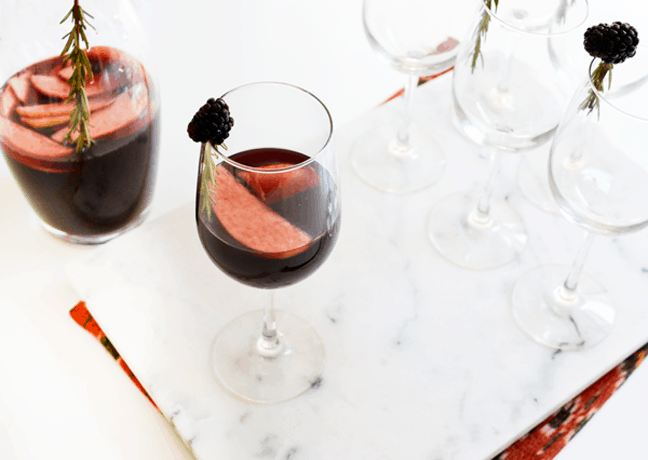 The Ultimate Fall Sangria Recipe with Blackberries & Apples