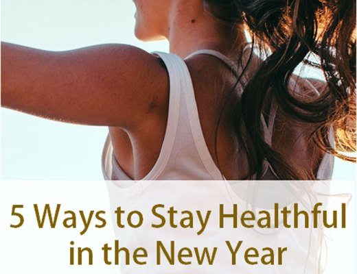 Five Ways to Stay Healthful in the New Year | www.cupcakesandthecosmos.com