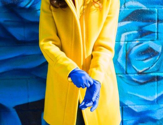 J. Crew Yellow Coat | www.cupcakesandthecosmos.com