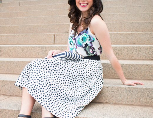 How to Mix Patterns for Springtime | www.cupcakesandthecosmos.com
