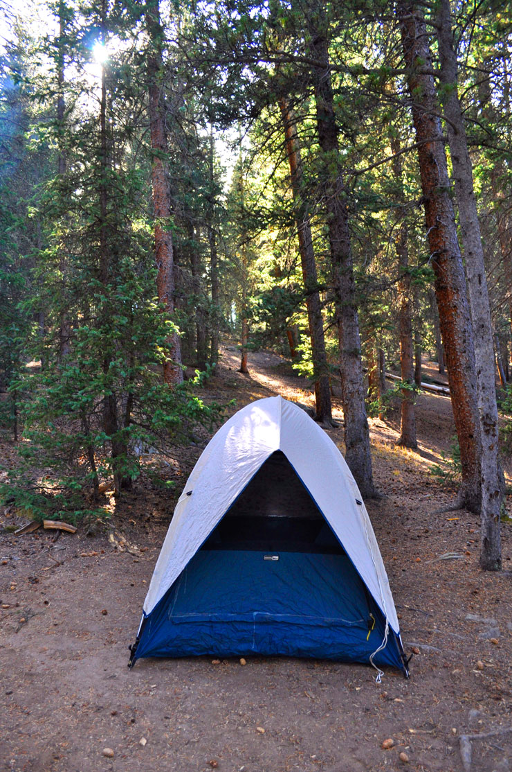 Camping in Lost Creek Wilderness, Pike National Forest, Fall in Colorado | www.cupcakesandthecosmos.com