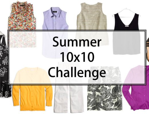 Summer 10x10 Challlenge | www.cupcakesandthecosmos.com