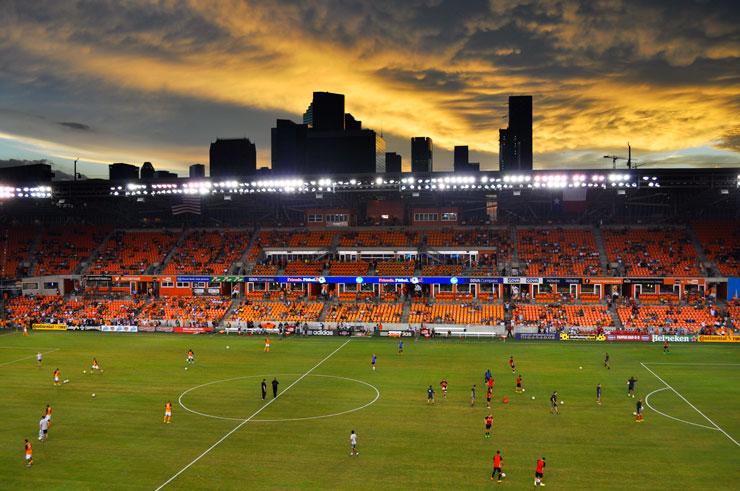 Houston Dynamo MLS Soccer Game | www.cupcakesandthecosmos.com