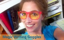 Magic Writing Goggles