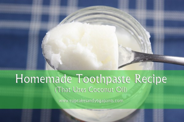 Coconut Oil Toothpaste Recipe