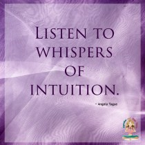 Listen to Whispers of Intuition