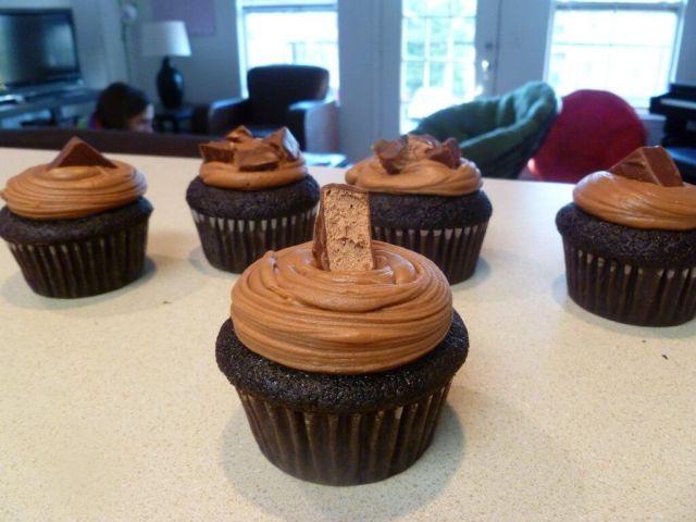 3 Musketeer Cupcakes!