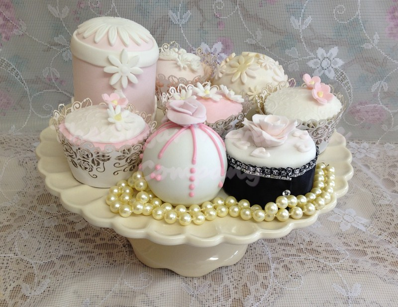30 Luscious Wedding Cupcakes Elegant Wedding Cupcakes