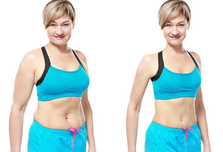 Increase your chances of a slimmer you after hitting the big 4-0 with these bad habit breakers, good lifestyle routines, and healthy eating tips.