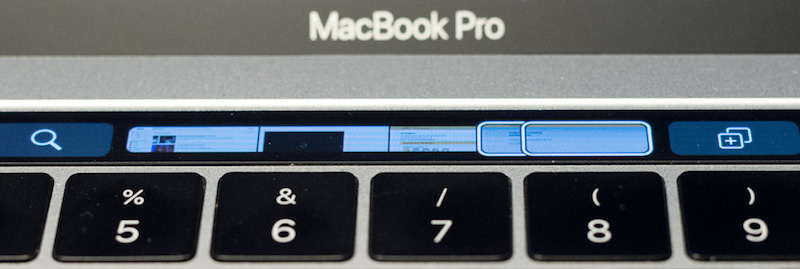 MacBook Pro – Touch Bar in Safari