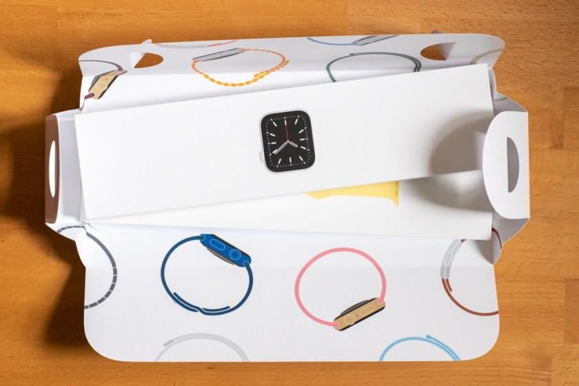 Apple Watch Series6– Verpackung