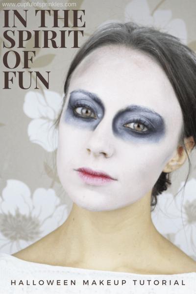 In The SPIRIT Of Fun - Halloween Makeup Tutorial