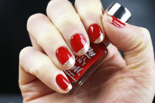 Chinese New Year Nail Art
