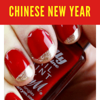 Chinese New Year Nails