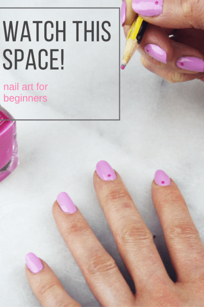Watch This Space Nail Art