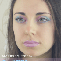 Pretty As A Picture... Pastel Watercolour Makeup Tutorial