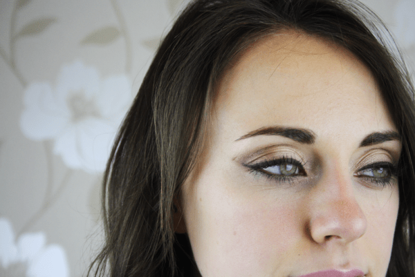 Smudged Smokey Eyes... With A Natural Twist!