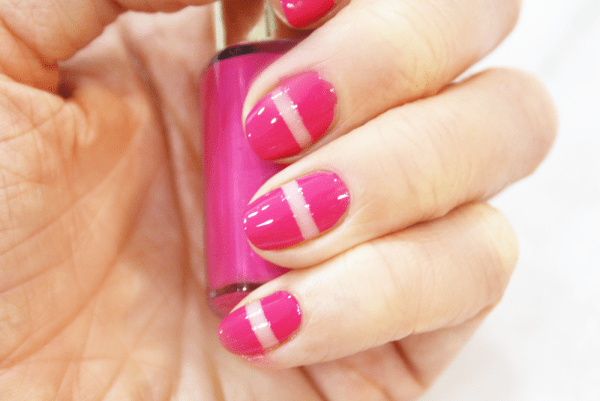 It's All In The Stripes - Sellotape Stripe Nail Art Tutorial