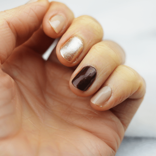 Autumn Nail Art Tutorial - Cupful of Sprinkles