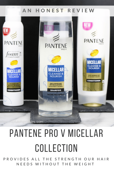 A Shampoo That Actually Works! - Pantene Pro V Micellar Collection Review
