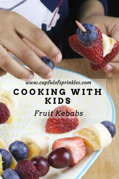 Fruit Kebabs - Cooking with Kids