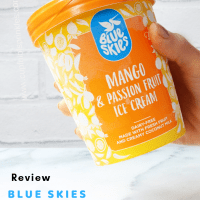 Mango & Passion Fruit Blue Skies Ice Cream Review