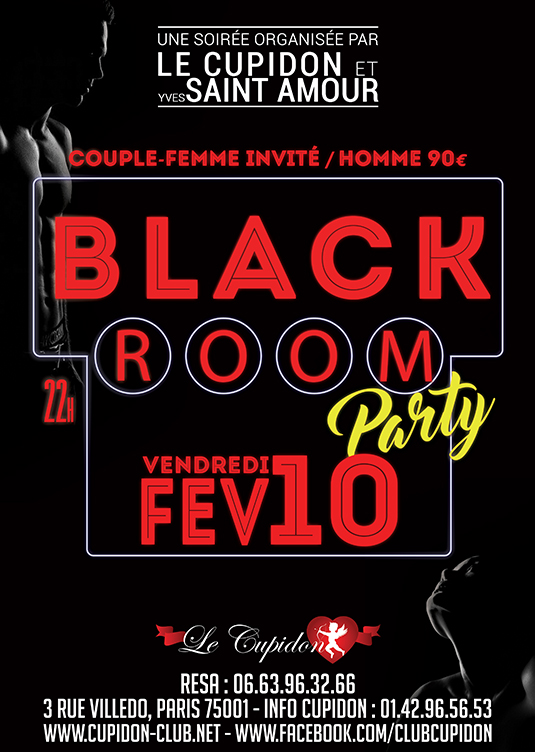 BLACK ROOM Party
