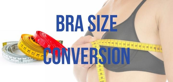 bra size conversion