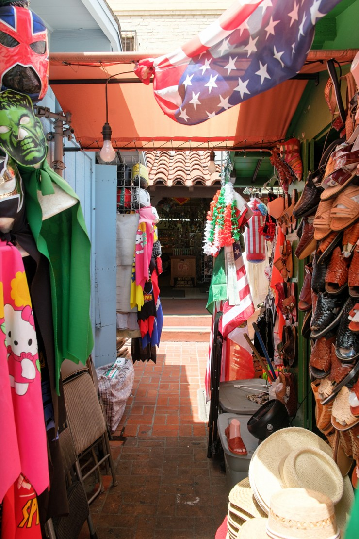 Olvera Street in Los Angeles