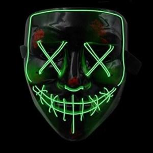 mascara de la purga luminosahalloween octubre 31 2019