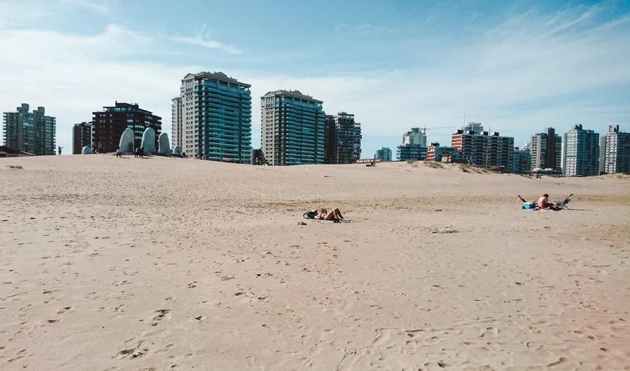 the beach at punta del este uruguay