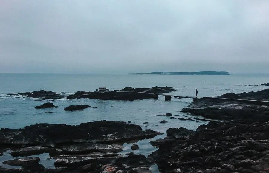 walking the cape of punta del este uruguay