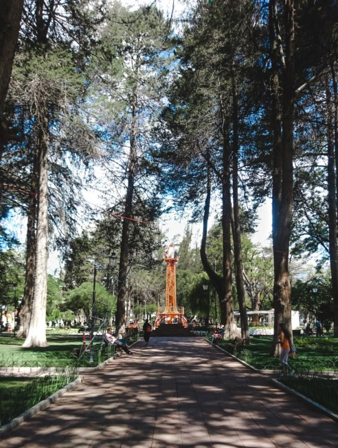 things to do in sucre bolivia spanish school park