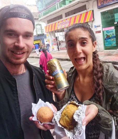 colombia south american street food papas rellenas