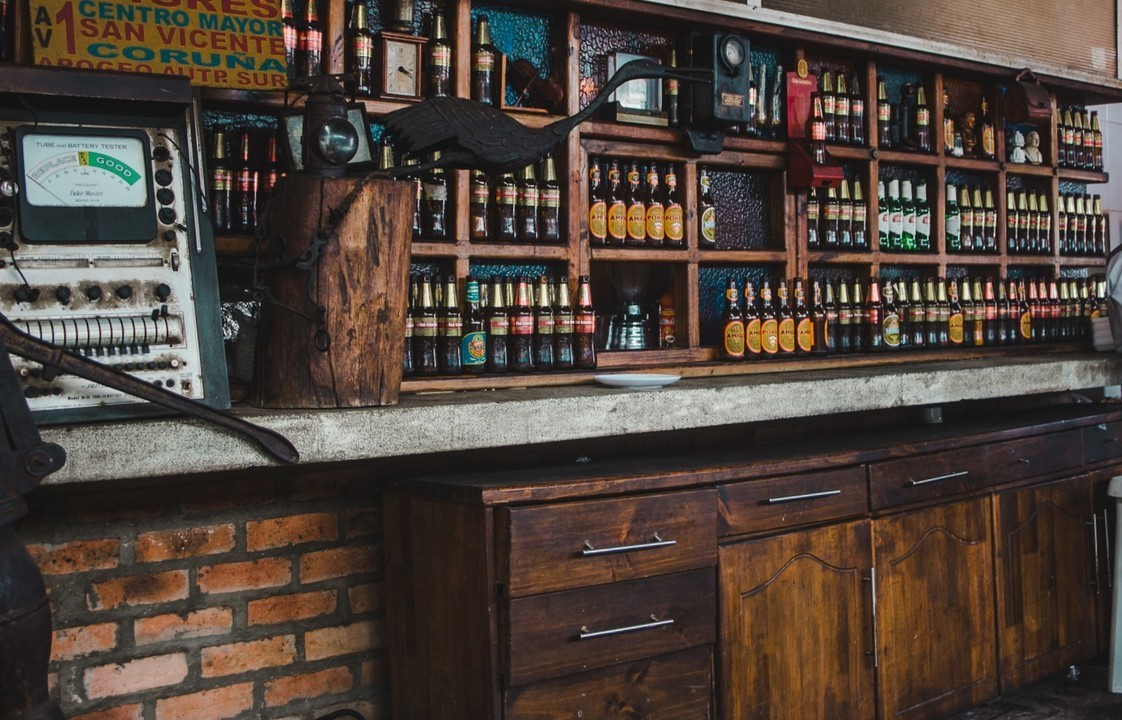 The Beer in Colombia Guide: Colombia | Bar in Zipaquirá: Club Colombia, Aguila, Cerveza Roja | Beer in Colombia by Cuppa to Copa Travels