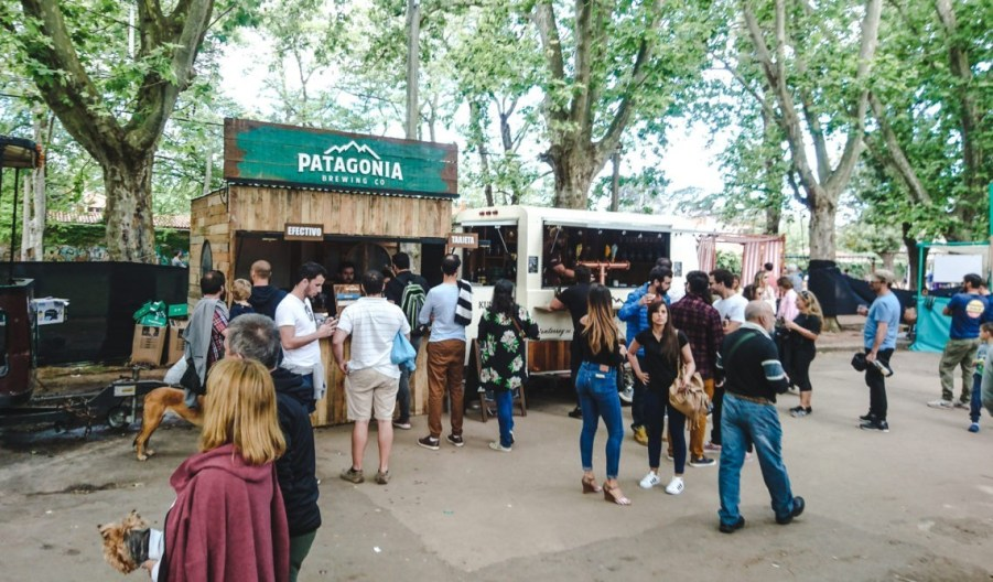 Best Craft Breweries in South America | Patagonia Cerveza beer truck Argentina | The Beer Guide | Argentinian Beer Brands
