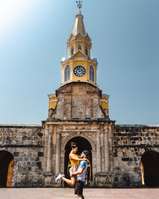 instagram locations: best places to stay in Cartagena Colombia