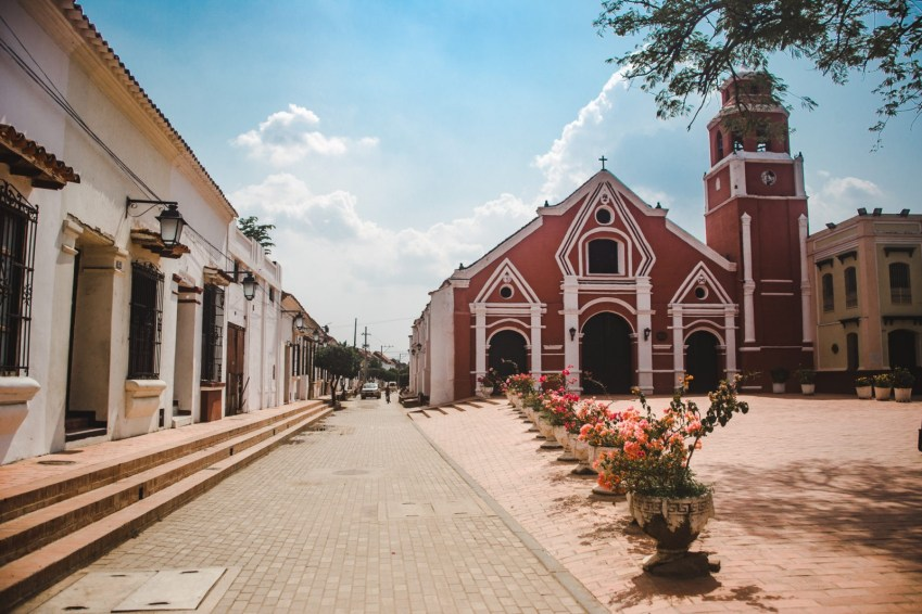 red church: things to do in mompox colombia
