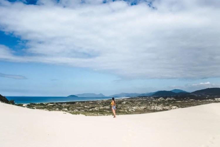 2 weeks south brazil itinerary trip plan Dunas Joaquina sand dunes Florianopolis travel guide Floripa Brazil