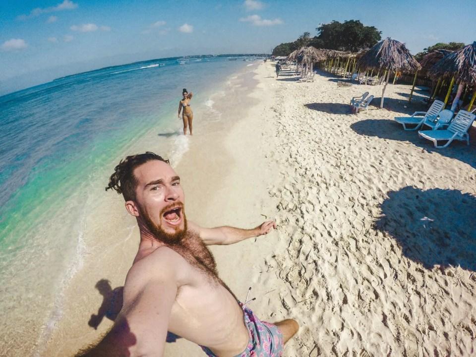 isla baru beach playa blanca colombia