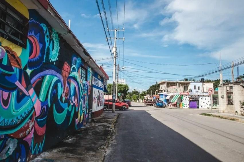 street art lake bacalar things to do