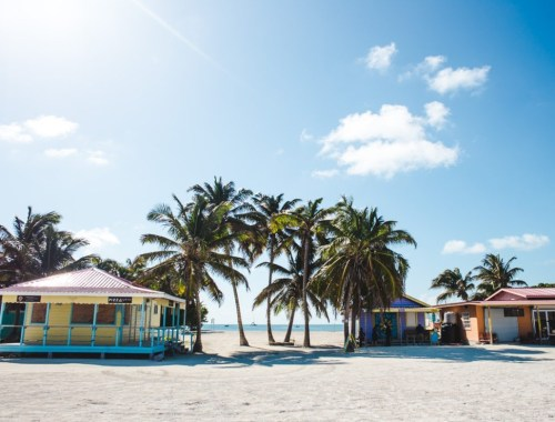 The split caye caulker belize travel guide