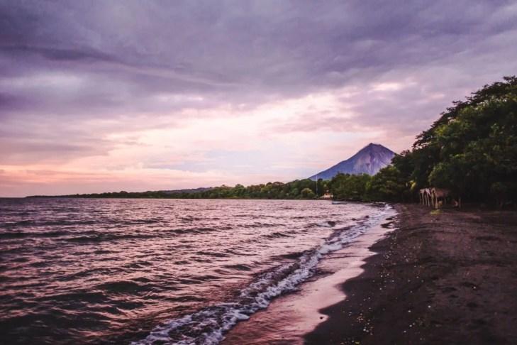 Things to do on Ometepe Island | Nicaragua travel sunset punta jesus maria