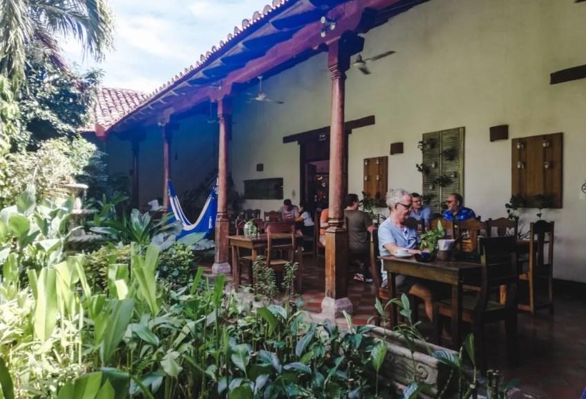 Garden cafe best restaurants granada nicaragua