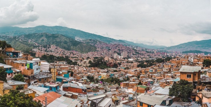 Comuna 13 medellin Colombia bucketlist destinations | places to go in Colombia | tourist attractions in Colombia