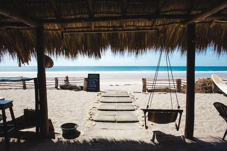 where to stay popoyo nicaragua