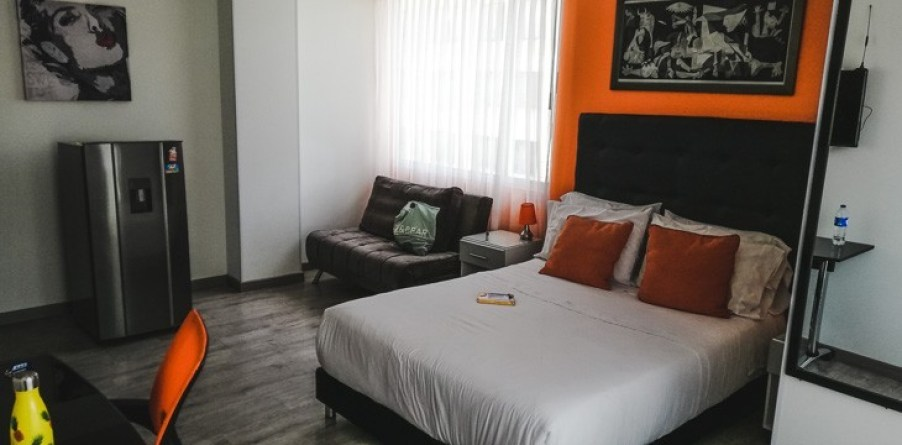cost of living in colombia rent accommodation studio flat apartment