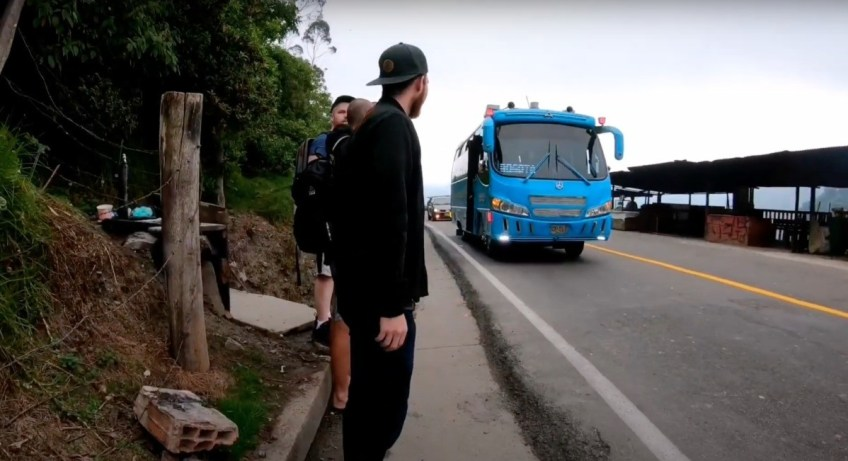 salto del tequendama bus